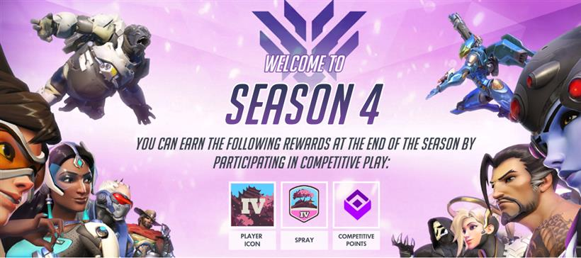 Season 4 Competitive Play Starts Today