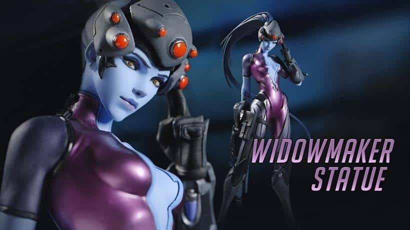 Widowmaker statue revealed
