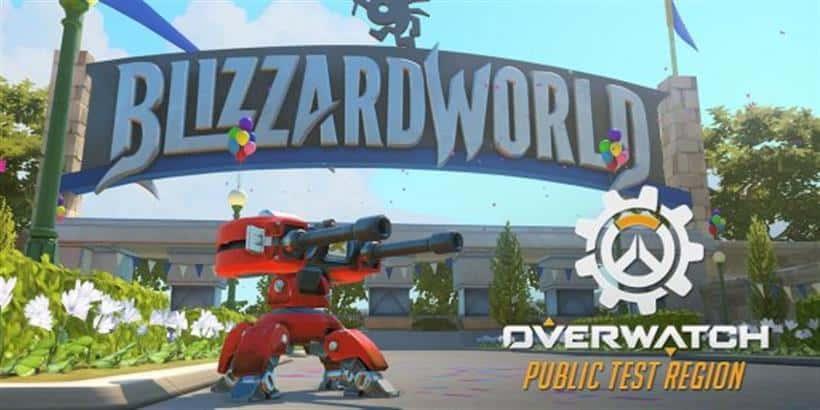 Amusement park map Blizzard World is live on PTR