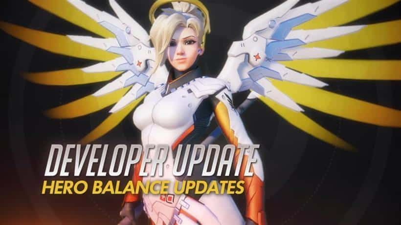 Blizzard tests great adjustments for Mercy on the PTR