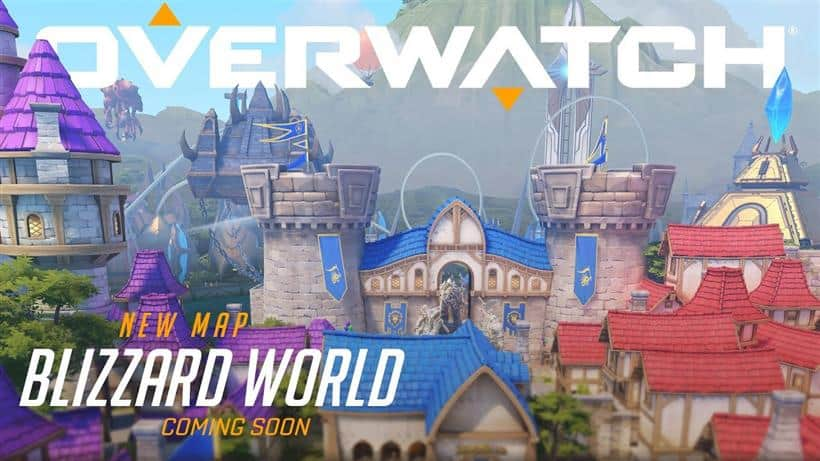 New Map Blizzard World Appearning Early 2018