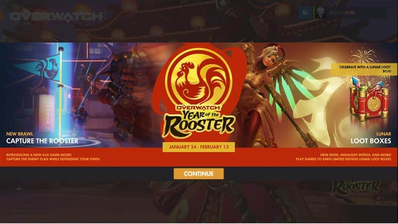 Overwatch Event: Year of the Rooster is LIVE!
