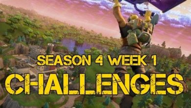 Photo of Season 4 Week 1 challenges