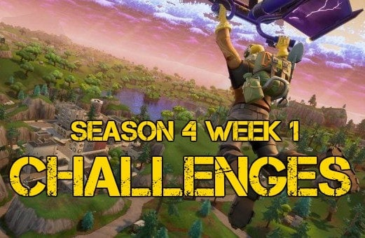 Season 4 Week 1 challenges