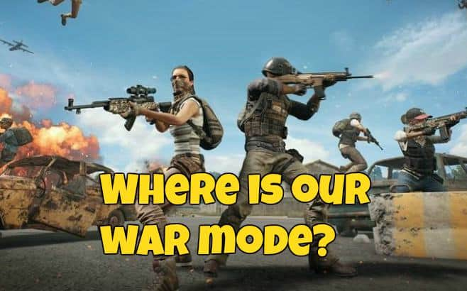 PUBG War Mode Image