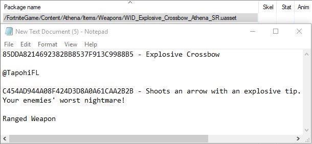 crossbow-leak