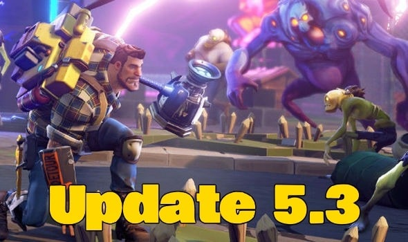 Update 5.3 to be released this Thursday