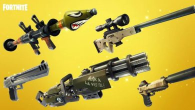 Photo of Weapon skins will be available in Fortnite