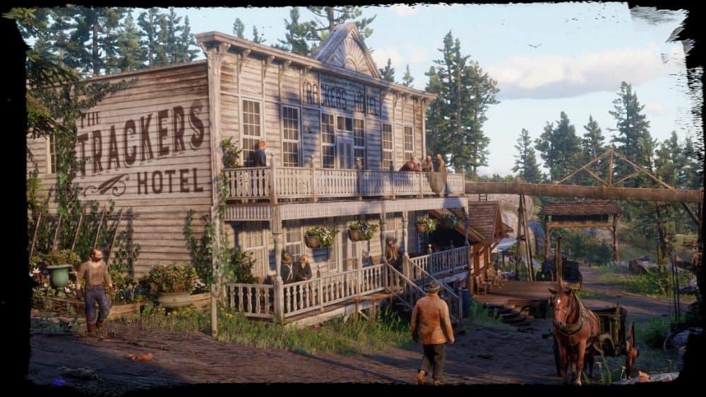 red dead online cabin