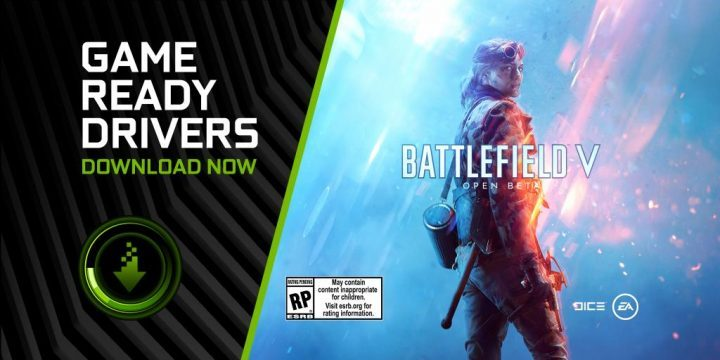 BFV Updated Nvidia Drivers