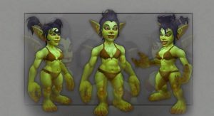 Goblin female model