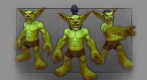 Goblin male model