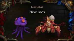 Nazjatar New Foes
