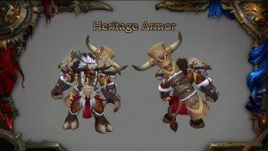 tauren heritage armor