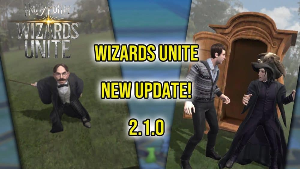 wizards unite update 2.1.0