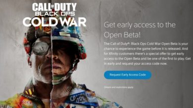 Photo of Call of Duty: Black Ops Cold War Beta Access Through Xfinity