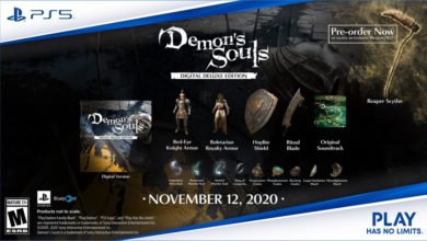 Photo of First Look at Demon's Soul Digital Deluxe Edition