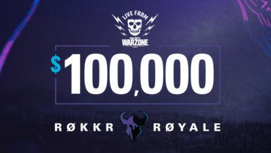Photo of RØKKR Royale $100,000 Tournament Kicks Off