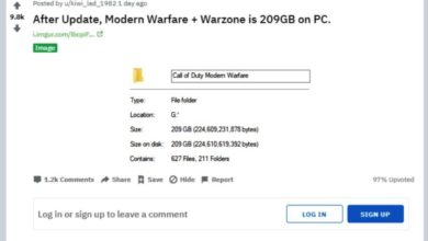 Photo of How to cut 125GB off of Call of Duty Modern Warfare