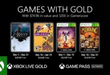 "Photo of Xbox ""Games With Gold"" For December 2020 Feels Like Bronze"